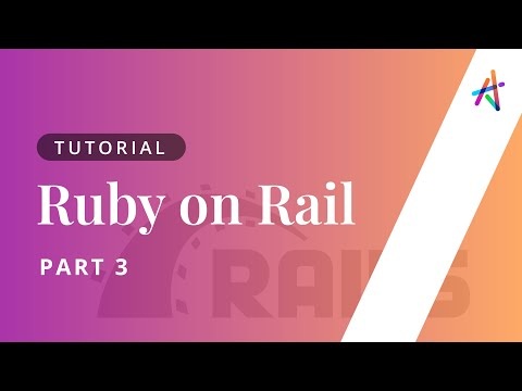 Ruby on Rails - Part 3   Ruby on Rails Tutorial   Ruby on Rails Course