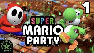 Gold Rush Mine - Super Mario Party (PART 1)   Let's Play