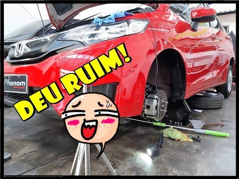 Ph - DEU RUIM! 😮 - Lavagem de caixa de roda do FIT