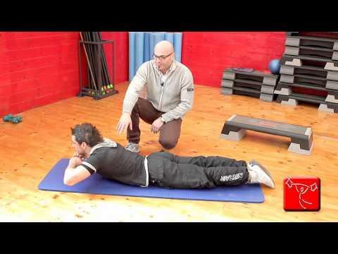 Esercizi per vertebrale ernia intervertebrale
