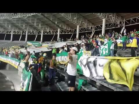 """""""Esta Es Tu Hinchada  Artilleria Verde Sur \\Pereira 3- 0 Quindio\\"""" Barra: Artillería Verde Sur • Club: Deportes Quindío"""