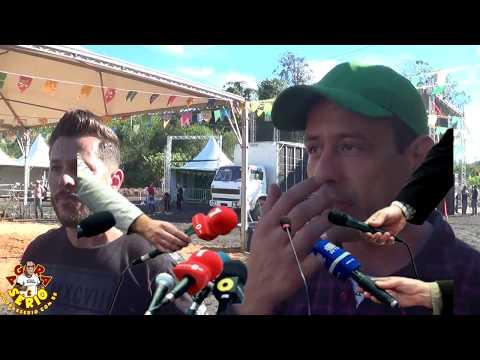 Tuca Maschio e Marcio Muralha tudo certo para a Festa Junina 2018 de Juquitiba
