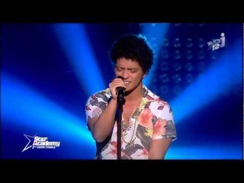 Bruno Mars - When I Was Your Man (Star Academy)