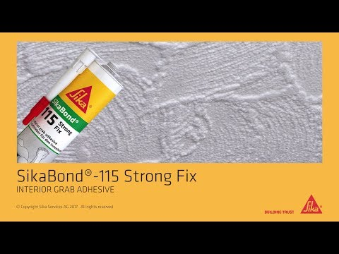 How to: Sikaflex® -115 Strong Fix