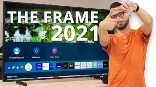 Video: Samsung The Frame 2021 - The look before the performance