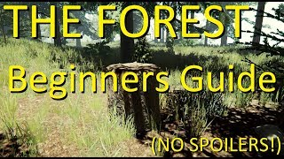 THE FOREST: Basics Beginner Guide Tutorial (NO SPOILERS)