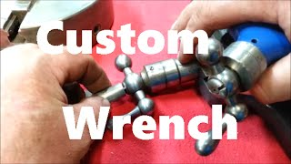 South Bend 9 X 24 Workshop Lathe Part 8  Carriage Wrench  Crafted Channel