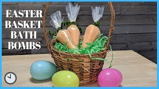 Easter Bath Bombs - DIY EASTER BASKET IDEAS - Easter Basket FIllers