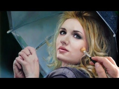 oil painting woman portrait tutorial by isabelle richard