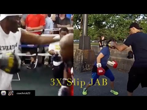 Best Boxing Moves - The Art of Slipping Punches | #Howto Mayweather / Canelo Style