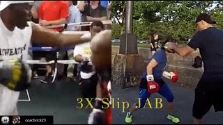 Best Boxing Moves - Art of Slipping Punches Successfully | #Howto Mayweather / Canelo Style