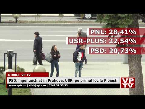 PSD, îngenunchiat în Prahova. USR, pe primul loc la Ploiești