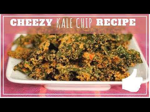 Video Cheesy Kale Chips - Raw Recipes on a Budget