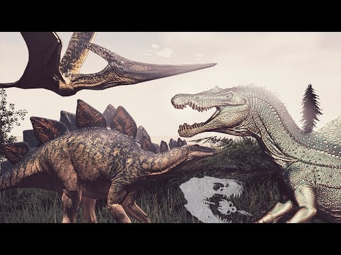 DEINOSUCHUS COMING SOON IN THE ISLE? AGAIN? NEW SPINO, STEGO, PTERA - The Isle News / Update