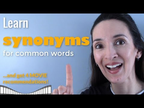 Download Synonyms for Common Words 💪 Boost your vocabulary with JenniferESL! Mp4 HD Video and MP3