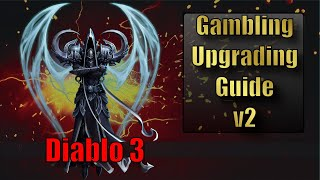 Diablo 3 Gambling and Upgrading Guide Season 18 :: Start Season 18 Leveling Fast Without a Power Lvl