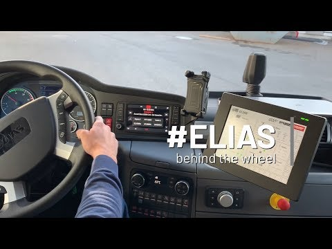 #ELIAS - behind the wheel
