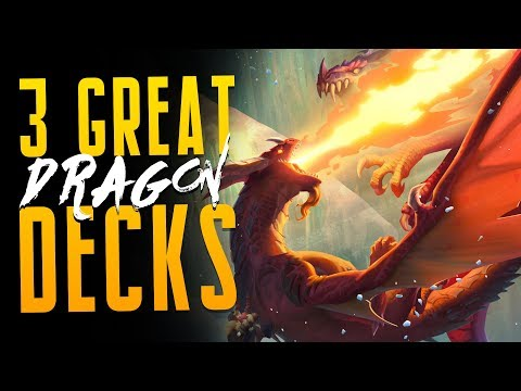 3 GREAT Dragon Decks! | Descent of Dragons | Hearthstone Expansion