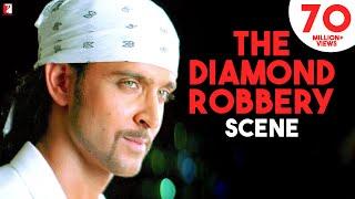 The Diamond Robbery Scene | Dhoom:2 | Hrithik Roshan, Abhishek Bachchan, Uday Chopra | Movie Scenes