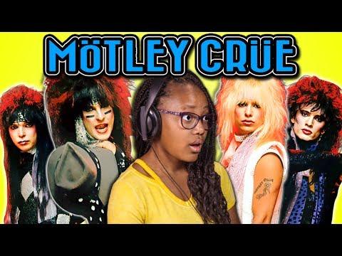 Kids react to Mötley Crüe