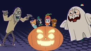Its Halloween Night | Bottle Squad Songs For Kids | scary song | Halloween Video | Kids Rhyme