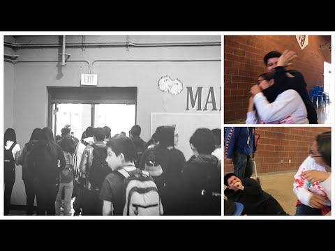 Fight At Metro & School lockdown ?!(Caught on camera)