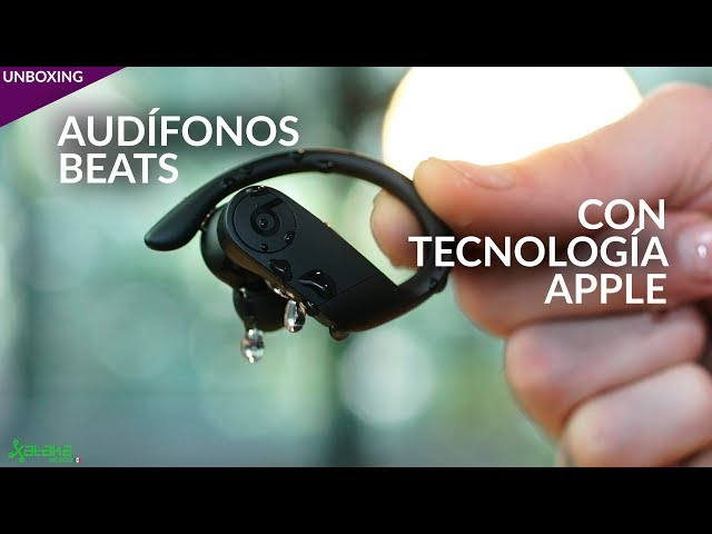 Powerbeats Pro, UNBOXING: APPLE contribuye a la CREACIÓN de estos AURICULARES