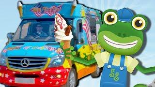 Geckos Ice Cream Truck Treasure Hunt   Videos For Kids