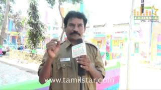 Sarapambu Subburaj at Athiradi Movie Shooting Spot