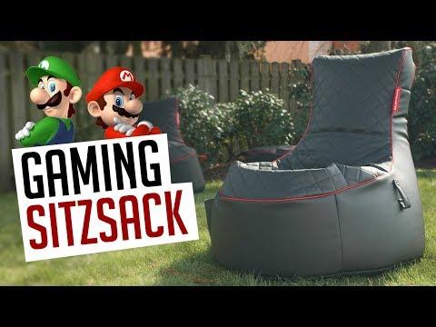 Gamewarez Sitzsack - Perfekt für alle Konsoleros!