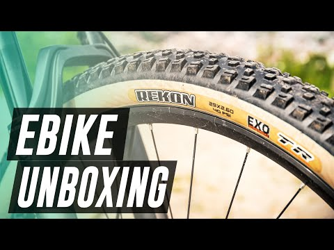 Unboxing a 2020 Focus Thron2 EMTB eBike