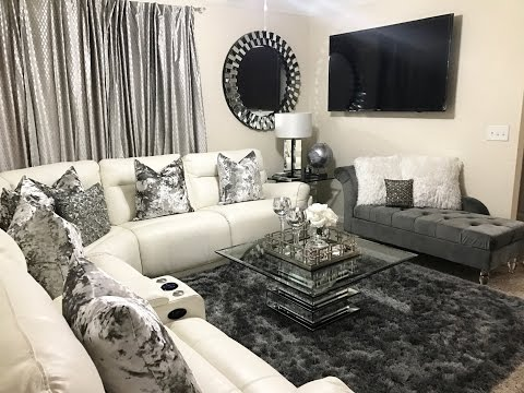 Glam Living Room Tour   Home & Decor Updates 2017   LGQUEEN Home Decor