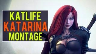 Katlife Katarina Montage | Best Katarina Plays [IRIOZVN]