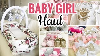 HUGE Baby Haul! Clothes, Decor, Baby Shower Gifts, Products & More!