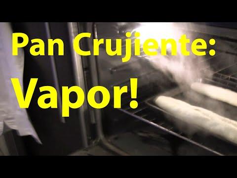 Cómo agregar vapor al horno?