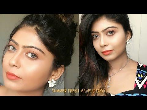 Summer fresh makeup Tutorial   Rinkal Soni