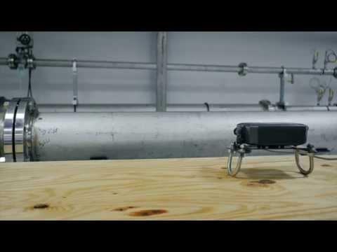 Panametrics Clamp On Ultrasonic Flow Meter