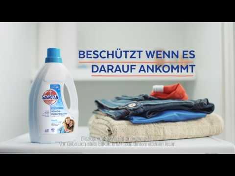 Sagrotan Wäschehygienespüler - TV Spot 2017