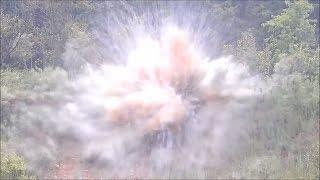 15lbs of Tannerite Explosion, Firing AR 15 Full Auto | Jason Asselin