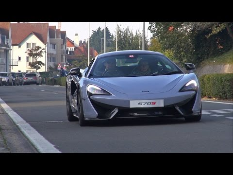 2016 McLaren 570S on the road! - Exhaust Sounds & Overview!