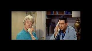 Pillow Talk (1959) Doris Day quarreling with Rock Hudson