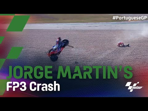 ジョージ・マルティンの大クラッシュ動画 第3戦ポルトガルGP