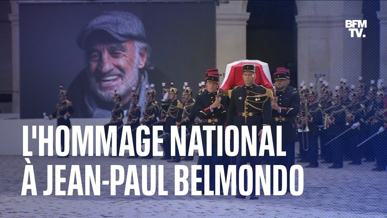 La cérémonie d'hommage national à Jean-Paul Belmondo en intégralité