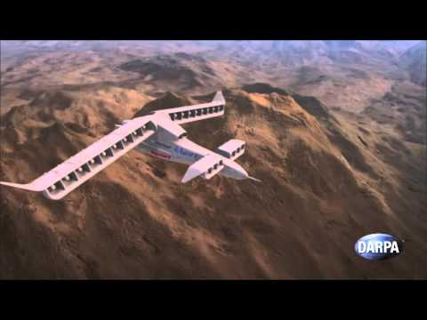 DARPA's New Vertical Take-Off Aircraft Concept Looks Totally Badarse