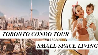 $2200 DOWNTOWN TORONTO CONDO TOUR | 750 Sq Ft With A Baby
