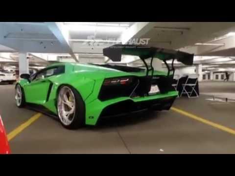 Lamborghini Aventador Lp700 F1 Valvetronic Exhaust System F1