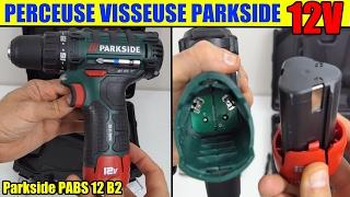 perceuse visseuse lild  parkside 12v pabs b2 cordless drill akku-bohrschrauber