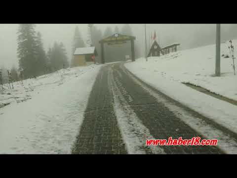Ilgaz Dağı Kar Yağışı 2018