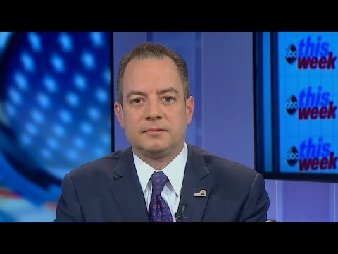 Priebus: Talk About Moving Press Corps 'Getting Way Out of Whack'