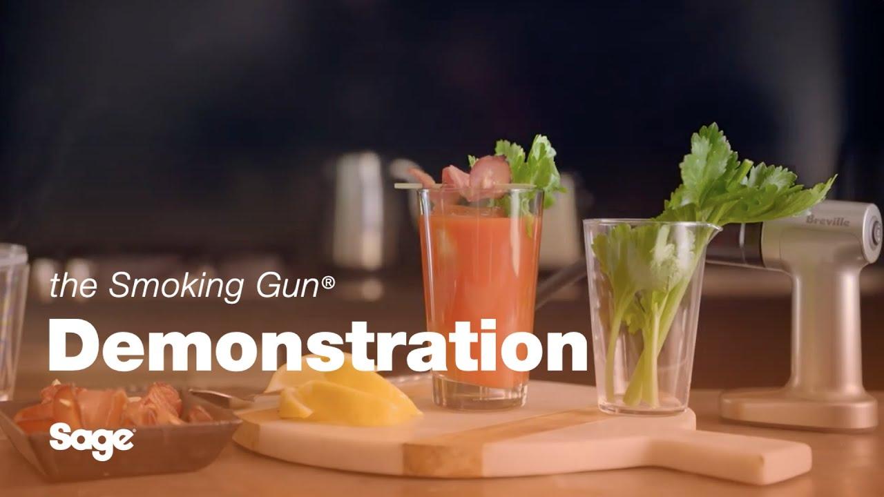 Sage - the Smoking Gun - The Smoky Bloody Mary Cocktail